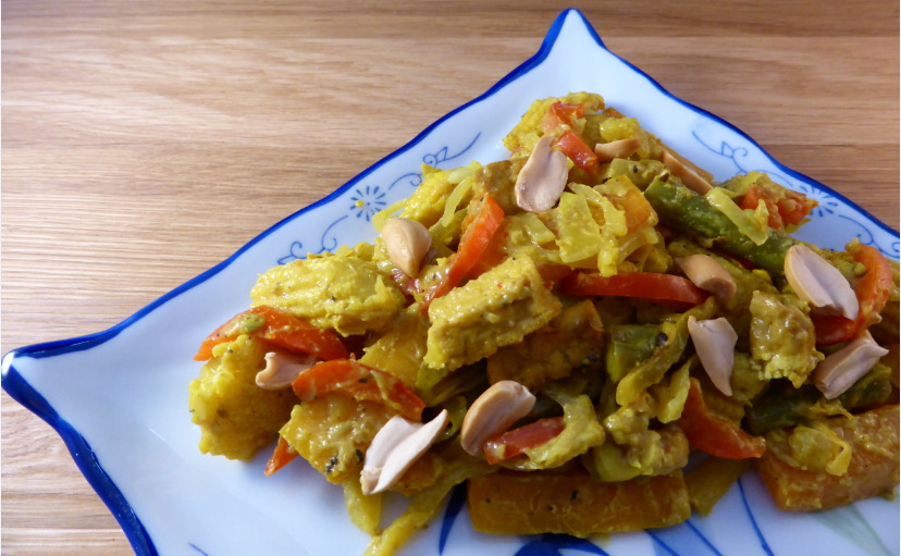 Thai Mixed Vegetable and Tofu Curry (vegan & gluten-free)