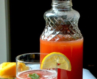 Summer Cooler 2: Strawberry - Pineapple Agua Fresca