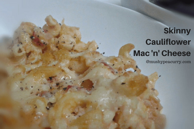 Skinny Cauliflower Mac 'n' Cheese