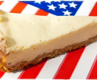 Original amerikanischer New York Cheesecake