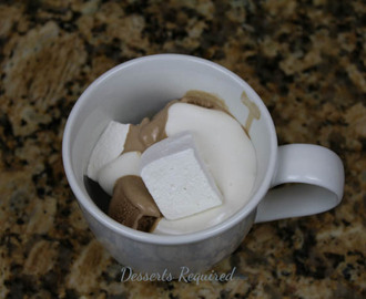 Kahlua Marshmallows and Marshmallow Sauce  #marshmallowmadness  #icecreamtuesday