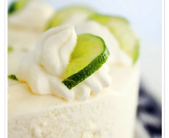 Fryst lime cheesecake!