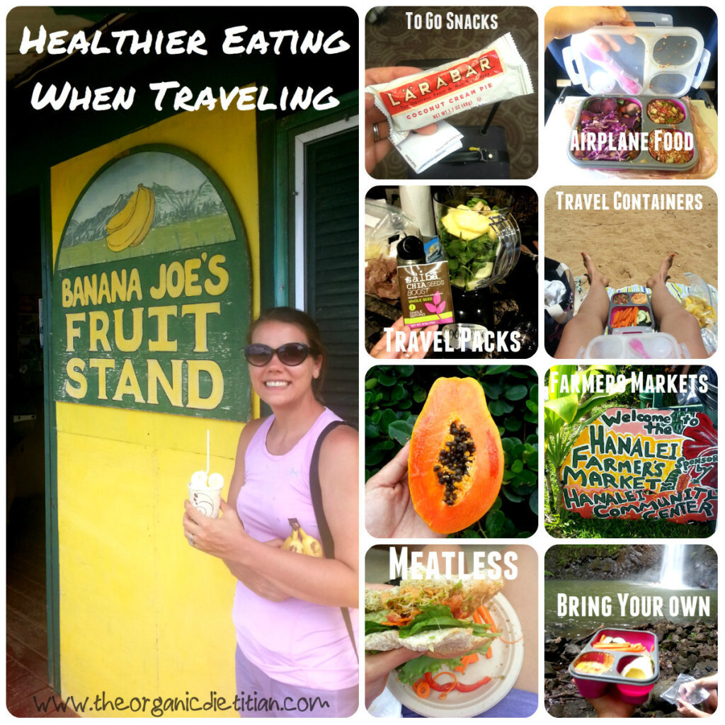 10 Tips for Healthier Eating When Traveling + My First GIVEAWAY