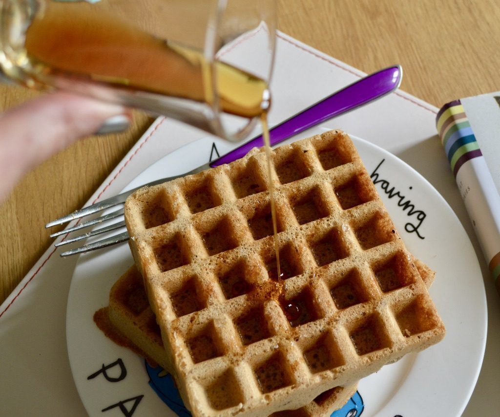Gluten and Dairy Free Cinnamon Waffles