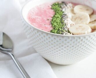 Himbeeren Smoothie Bowl