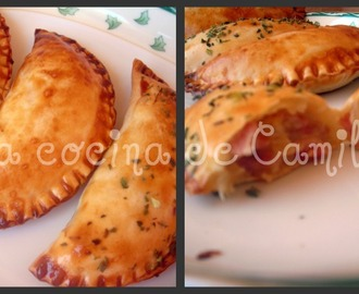 Empanadillas a la carbonara