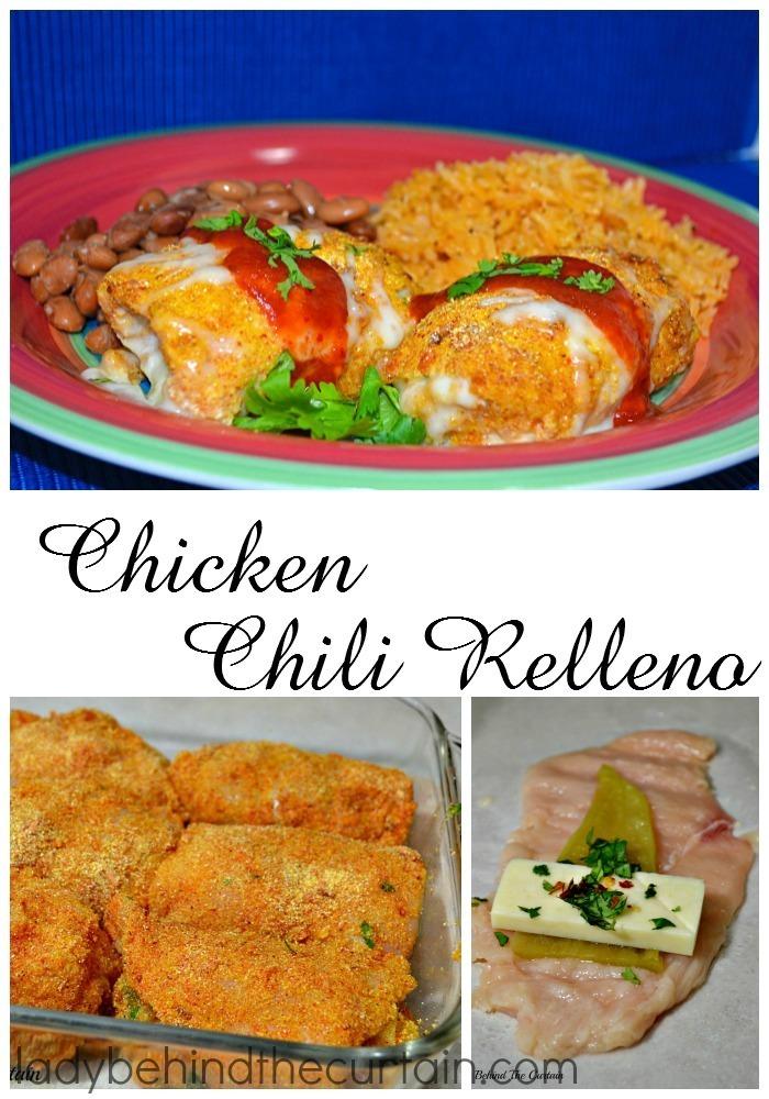 Chicken Chili Relleno