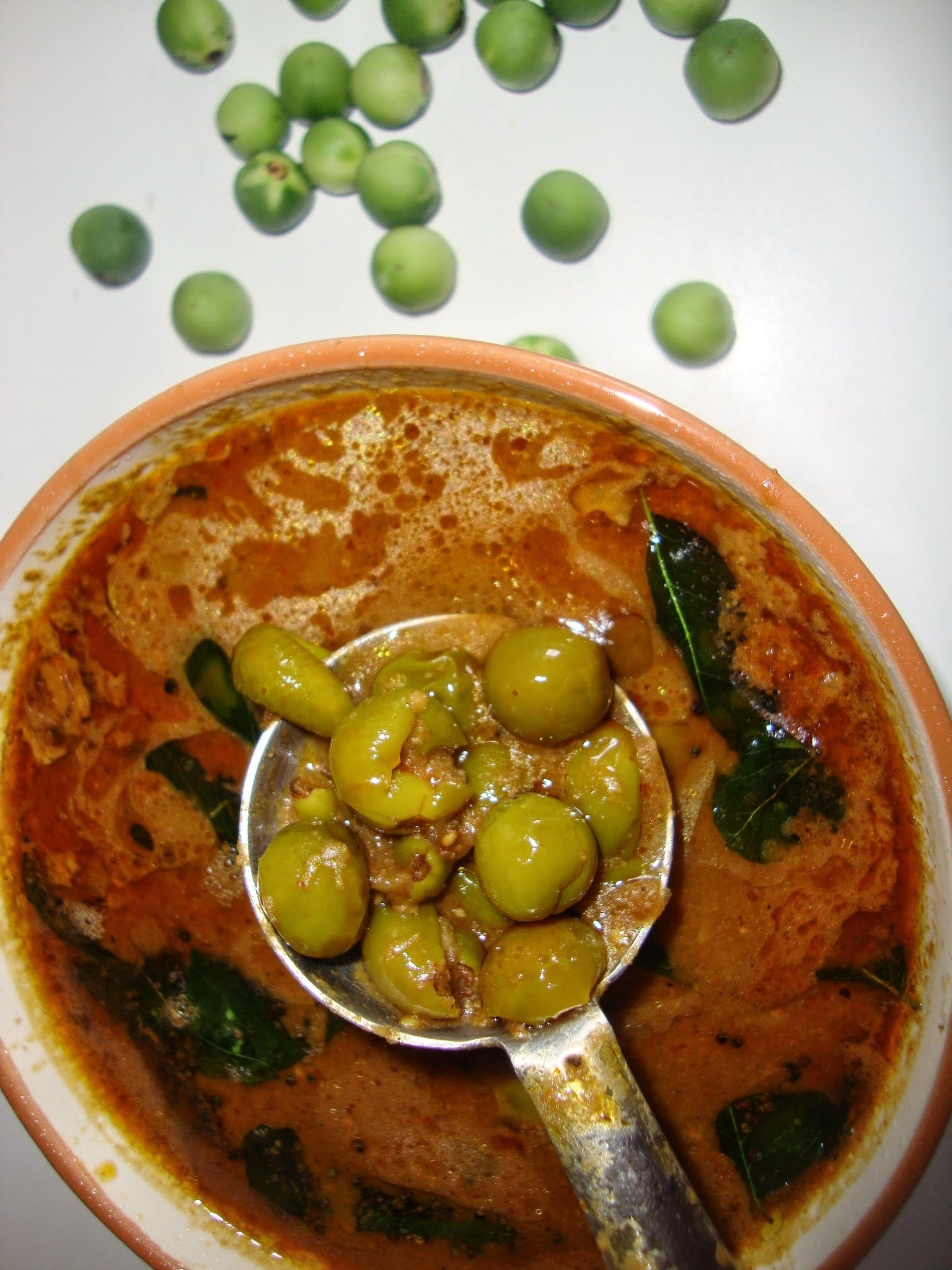 Sundakkai Kuzhambu | Turkey berry curry with Tamarind juice