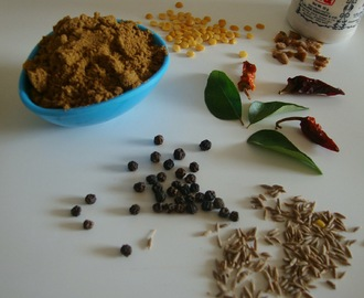 Rasam powder | South Traditional rasam powder