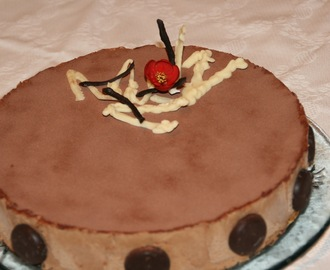 TARTA DE CAFE IRLANDES Y CHOCOLATE