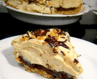Peanut Butter Pie with Pretzel Crust