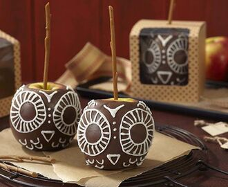 Owl Candy Apples