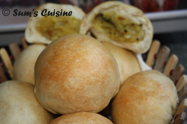 Aloo Buns - Potato stuffed buns