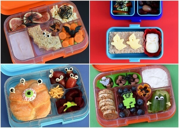 A Week of Easy Halloween Lunch Ideas