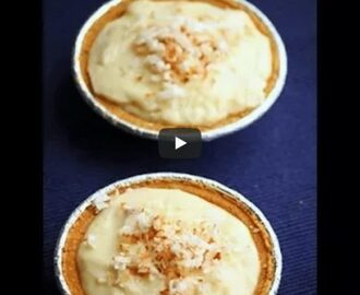 Coconut cream Pie Recipe Video