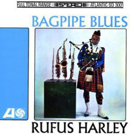 Rufus Harley - säckpipa Blues [Vinyl] USA import