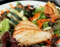 Chinese Chicken Salad with Wonton Croutons