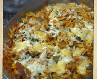 Creamy Baked Pasta with Vegetables