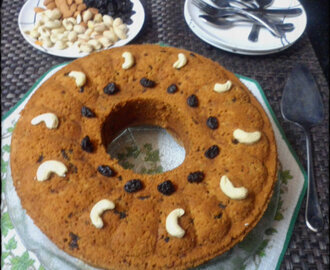 Super Healthy Dry Fruit and Nuts Cake for New Year, New Beginning