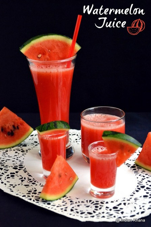 Watermelon Juice Recipe | Summer Drinks Recipes