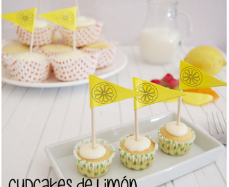 Cupcakes de Limón con Cheesecream