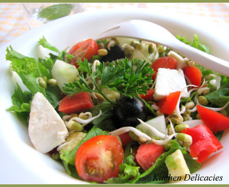 Sprouts and Vegetable Salad