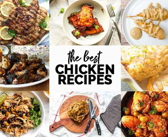 9 delicious chicken recipes