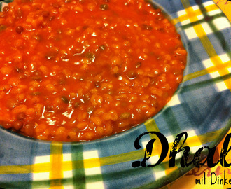 {Clean Eating} Dhal mit Dinkel