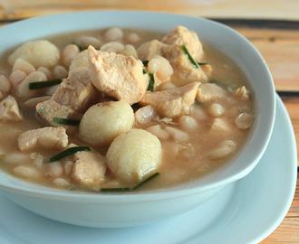 Recetas de cocinar judias blancas peque as mytaste for Cocinar judias blancas de bote