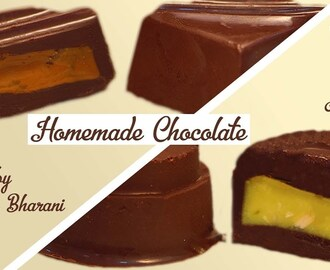 Homemade Chocolate Recipe In 5 Minutes  Coffee & Pineapple Easy Chocolate Recipe In Hindi At Home