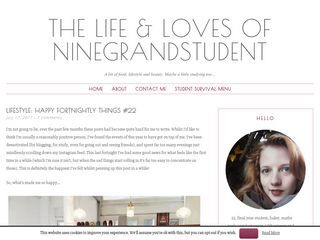 The Life & Loves of Ninegrandstudent