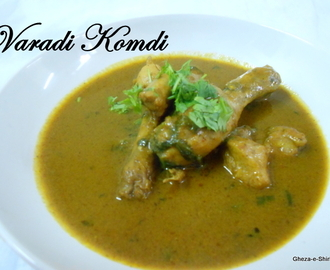 Varadi Komdi /A chicken curry from a Maharashtra - Vidharb Region
