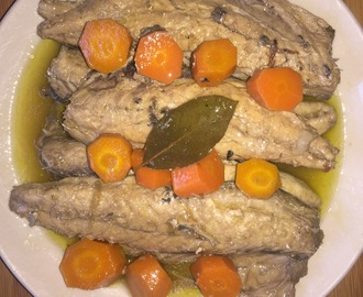 Jureles en escabeche