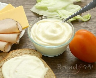 Traditional Mayonnaise with Olive Oil