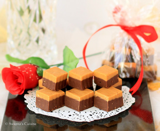 Chocolate and Butterscotch Fudge Recipe