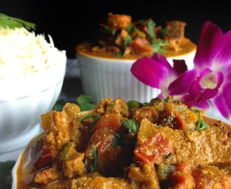 Easy Vegan Spicy Lamb Curry