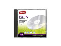 DVD-RW STAPLES 4,7GB Jewel Case 5/FP