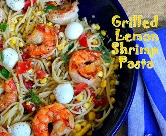 And So It Is and Grilled Lemon Shrimp Pasta