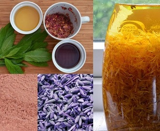 Making Beauty Products from Garden Herbs & Flowers