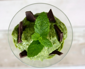 Vegan Mint Ice Cream – Vegansk Mintglass