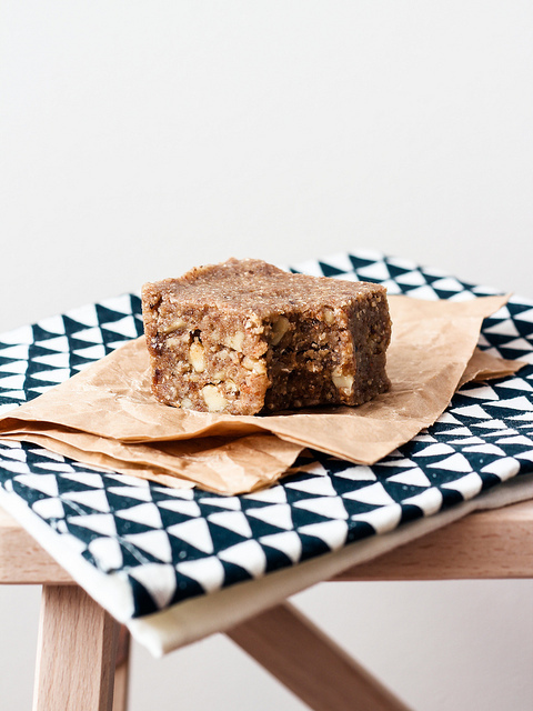 RAW BANANA NUT BREAD