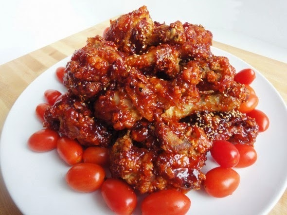 Korean Seasoned Fried Chicken