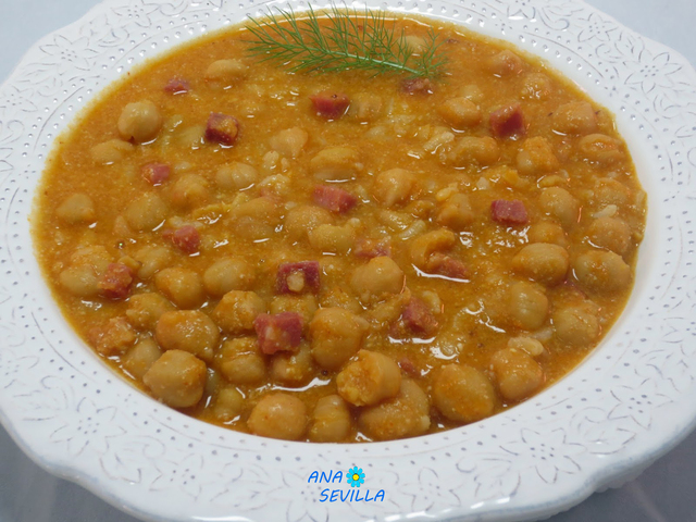 Garbanzos con arroz olla GM