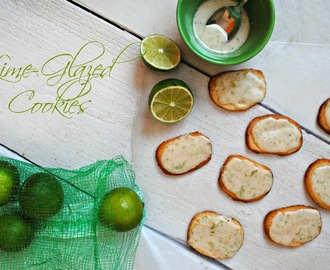 I'm Here! + Lime-Glazed Cookies