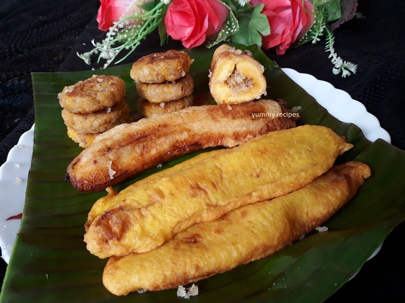 Three Ripe Banana Snacks Recipe