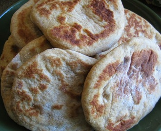 Wheat Griddle Bread