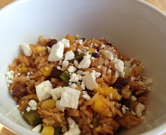 Leftover Makeover: Fiesta Rice and Beans