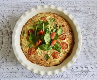Gluten and Dairy Free Cheese and Tomato Baked Quinoa