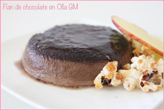 Flan de chocolate en Olla GM
