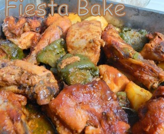 Naz's Kitchen Fiesta Chicken Bake